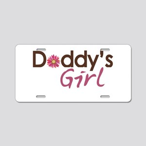 Daddy's Girl Aluminum License Plate
