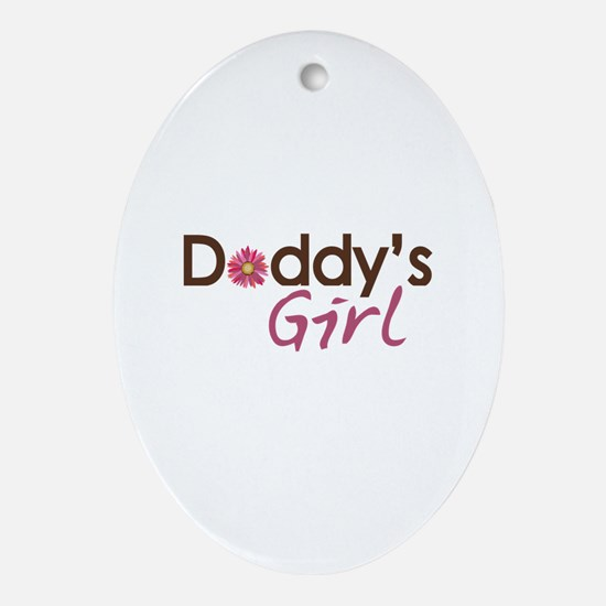 Daddy's Girl Ornament (Oval)