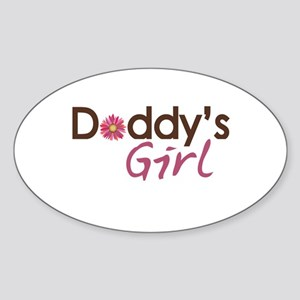 Daddy's Girl Sticker (Oval)