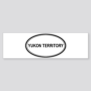 Yukon Territory Euro Bumper Sticker