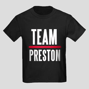 Team Preston Grey's Anatomy Kids Dark T-Shirt