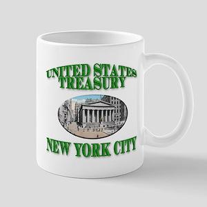 U S Treasury New York City Mug