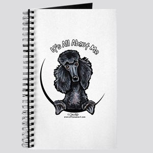 Black Standard Poodle IAAM Journal