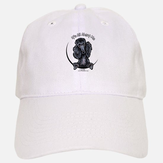 Black Standard Poodle IAAM Baseball Baseball Cap