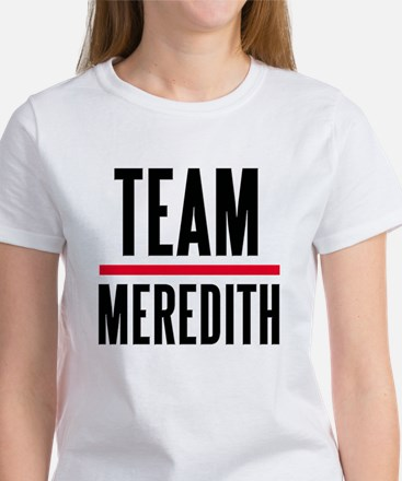 Team Meredith Grey's Anatomy Women's T-Shirt