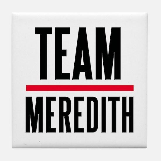Team Meredith Grey's Anatomy Tile Coaster
