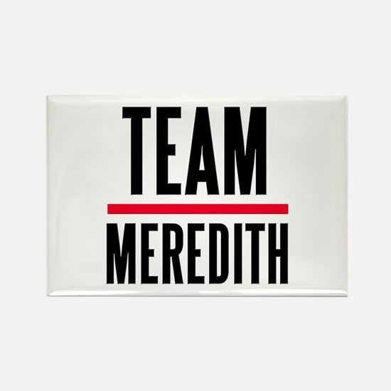 Team Meredith Grey's Anatomy Rectangle Magnet