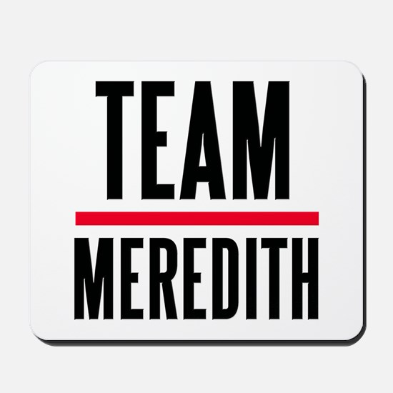 Team Meredith Grey's Anatomy Mousepad