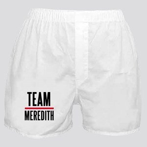 Team Meredith Grey's Anatomy Boxer Shorts
