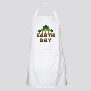 Earth Day Trees Apron