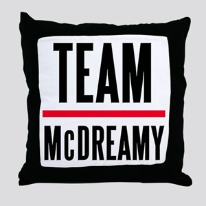 Team McDreamy Grey's Anatomy Throw Pillow