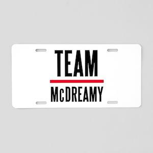Team McDreamy Grey's Anatomy Aluminum License Plat