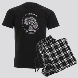 Gray Poodle IAAM Men's Dark Pajamas