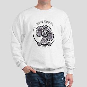 Gray Poodle IAAM Sweatshirt