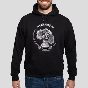 Gray Poodle IAAM Hoodie (dark)