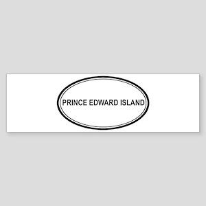 Prince Edward Island Euro Bumper Sticker