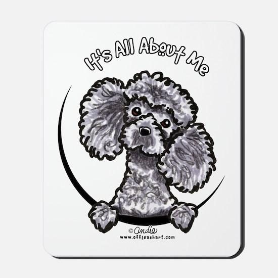 Gray Poodle IAAM Mousepad