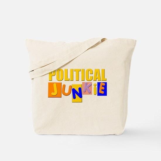 political junkie Tote Bag
