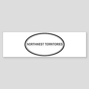 Northwest Territories Euro Bumper Sticker