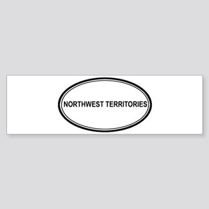Northwest Territories Euro Bumper Sticker