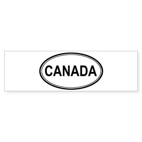 Canada Euro Bumper Sticker