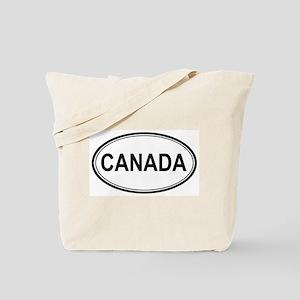 Canada Euro Tote Bag