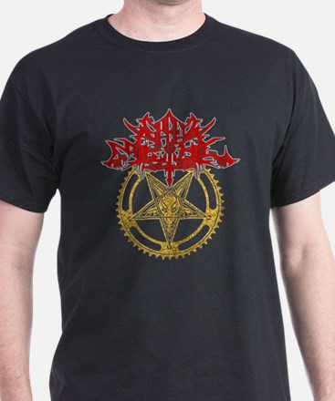Black Metal Cycling T-Shirt