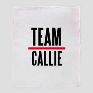 Team Callie Grey's Anatomy Throw Blanket