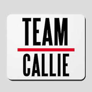 Team Callie Grey's Anatomy Mousepad