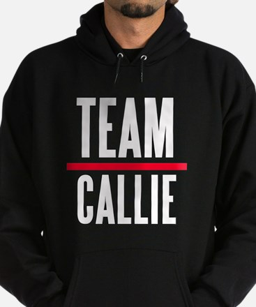 Team Callie Grey's Anatomy Hoodie (dark)
