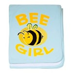 BEE Girl baby blanket