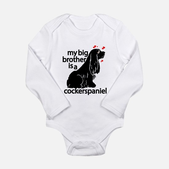 'My Big Brother...' Long Sleeve Infant Bodysuit