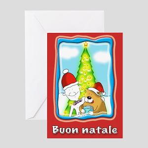 Buon natale, xmas Greeting Card
