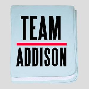 Team Addison Grey's Anatomy baby blanket