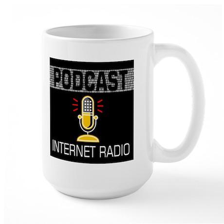 Large Mug For Podcasters