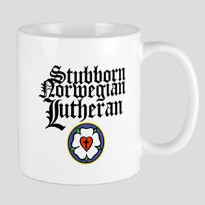 Stubborn Norwegian Lutheran Mug