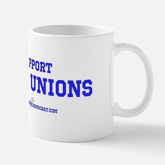 Unique Support unions Mug