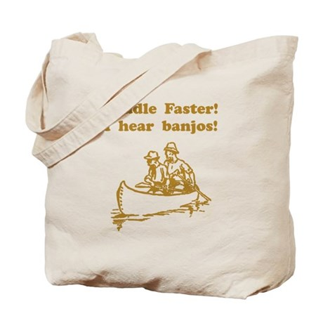 Paddle Faster! Style A Tote Bag