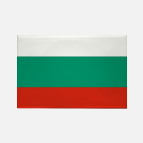 Bulgarian Flag Rectangle Magnet