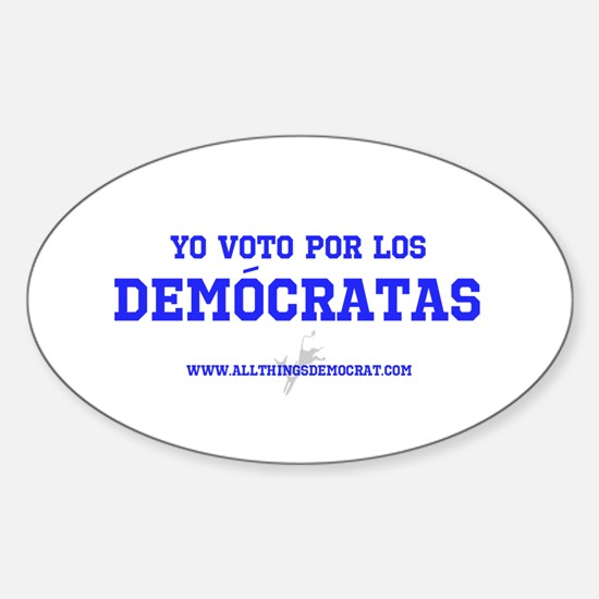 Funny Spanish bumpers Sticker (Oval)