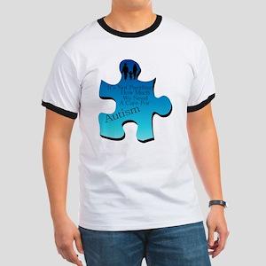 Autism Go Blue Ringer T