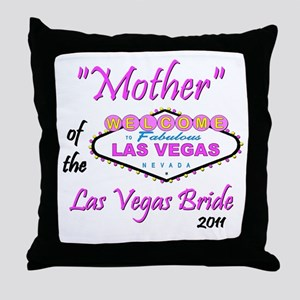 Mother/Bride Throw Pillow