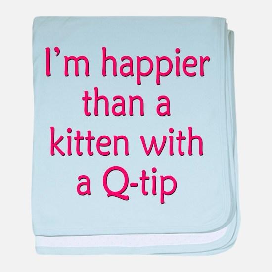 Happy Kittens baby blanket