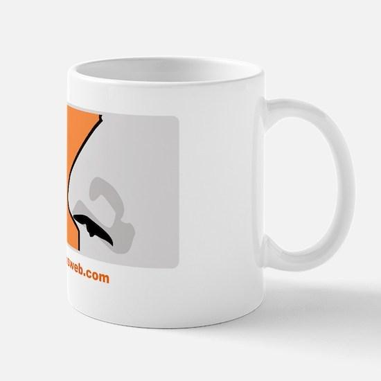 followyournose-orange Mugs