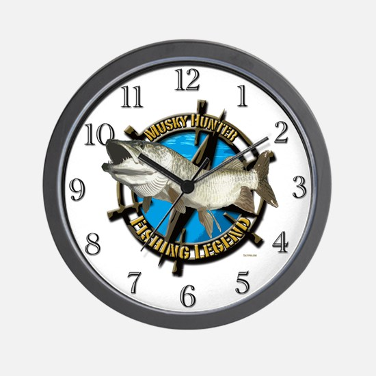 Musky Legend Wall Clock