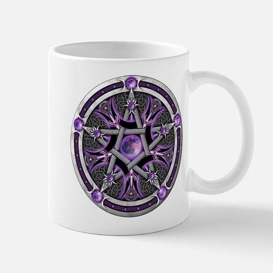 Pentacle of the Purple Moon Mug