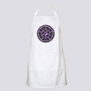 Pentacle of the Purple Moon Apron