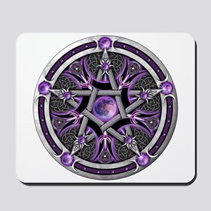 Pentacle of the Purple Moon Mousepad