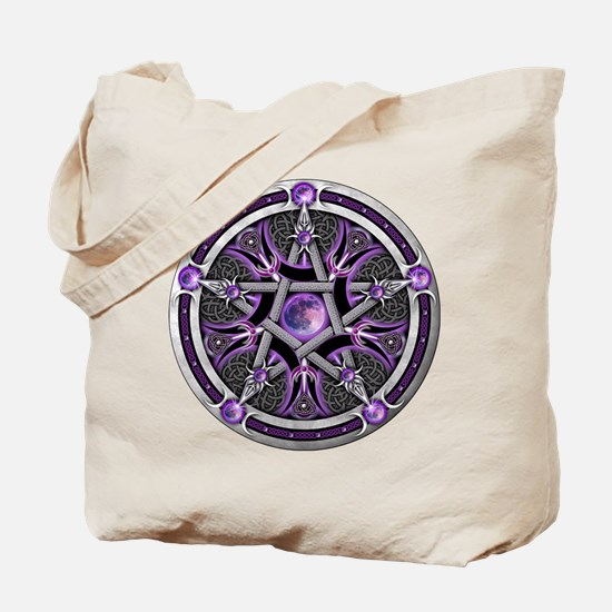 Pentacle of the Purple Moon Tote Bag