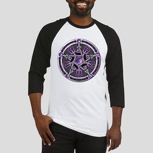 Pentacle of the Purple Moon Baseball Jersey